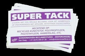Stickers voor apolaire ondergronden