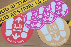slijtvaste vloer sticker anti-slip